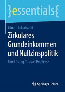 Cover: Lukschandl: Zirkulares Grundeinkommen
