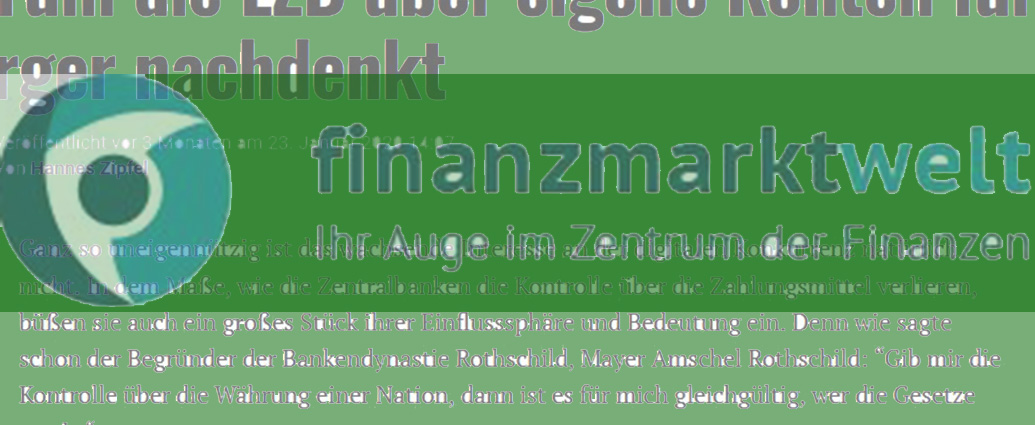 Header: Beitrag Finanzmarktwelt